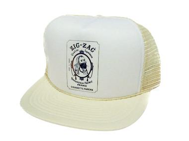 zig zag papers trucker hat mesh hat