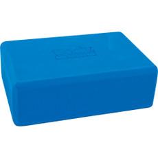 FOAM YOGA BLOCK, BLUE 4 X 6 X 9