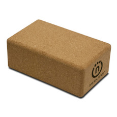 """Cork Yoga Block Features Stabilizes and supports yoga poses. Firm cushioning and comfortable grip. Made of lightweight and sustainable natural cork. Dimension: 5.5"""" x 9"""" x 3.5"""". Color: natural. SPECS  Length: 9"""" Thickness: 3 1/2"""" Width: 5 1/2"""""""