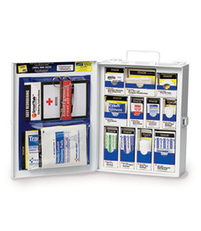 First Aid Only SmartCompliance First Aid Cabinet (OSHA), 112-Piece First Aid Kit, Medium, 1050-FAE-0103