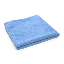 16x16 Microfiber Towels, Light Blue