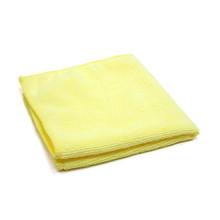 16x16 Microfiber Towels, Yellow