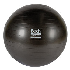 BODY SPORT(R) STUDIO SERIES FITNESS BALL (EXERCISE BALL), 75 CM, CHARCOAL