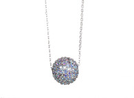 Crystal Ball necklace (N80)