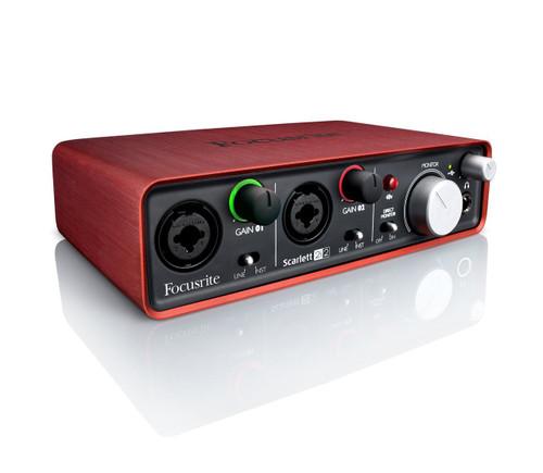 Focusrite SCARLETT2i2 USB Recording Audio Interface w/ Ableton Live Lite