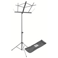 Compact Sheet Music Stand (Black, with Bag)