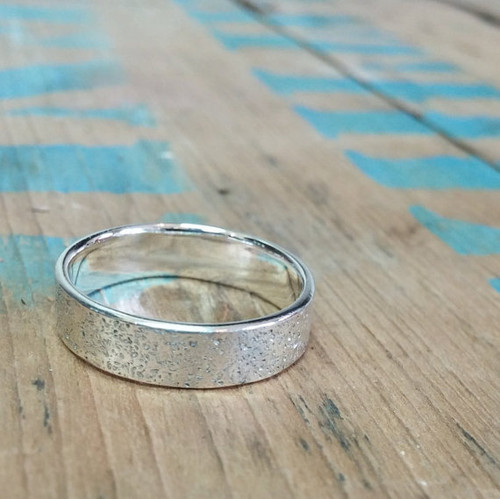 PEI Sand Band - sterling printed with sand