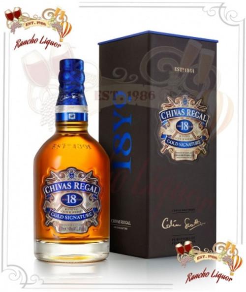Chivas Regal 18 Year Whiskey