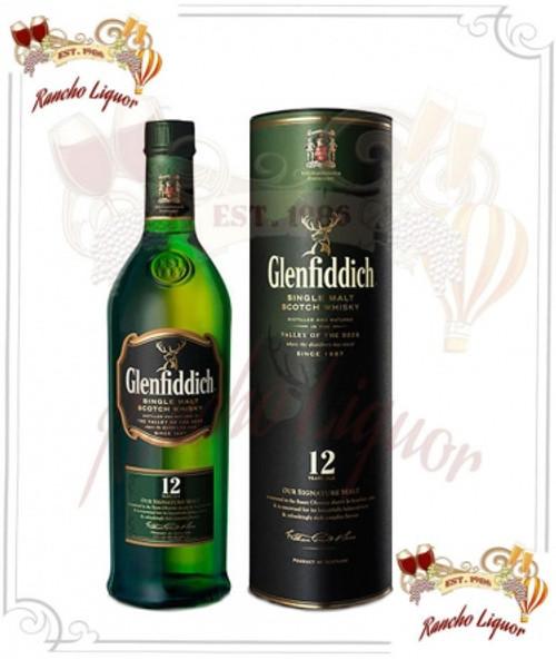 Glenfiddich 12 Year Single Malt Scotch Whiskey