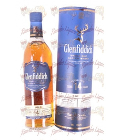 Glenfiddich Single Malt Scotch Whisky Aged 14 Years 750 m.L.
