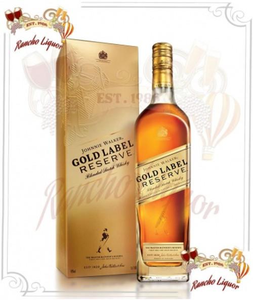 Johnnie Walker Gold Label Whiskey