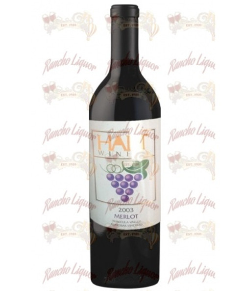 Hart Winery Merlot Konchar Temecula Valley 750 mL