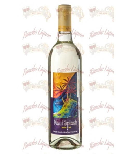MAUI SPLASH Tropical Sweet Pineapple Wine 750 mL