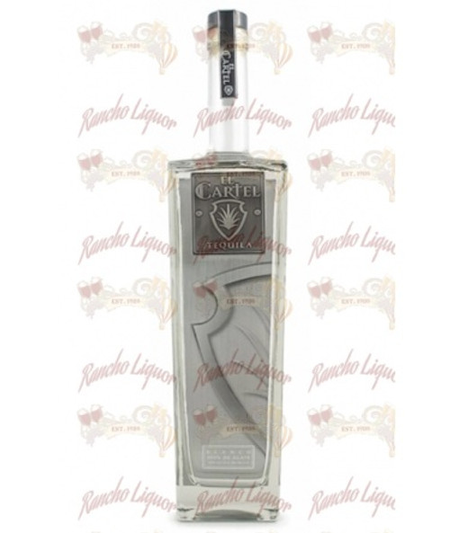 El Cartel Silver Tequila 750mL