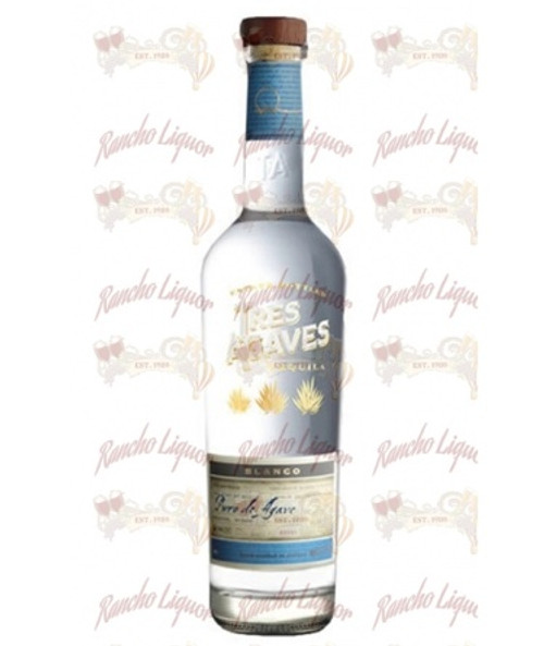 Tres Agaves Blanco 750mL