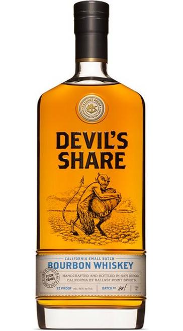 Ballast Point Devil's Share Bourbon Whiskey 750mL