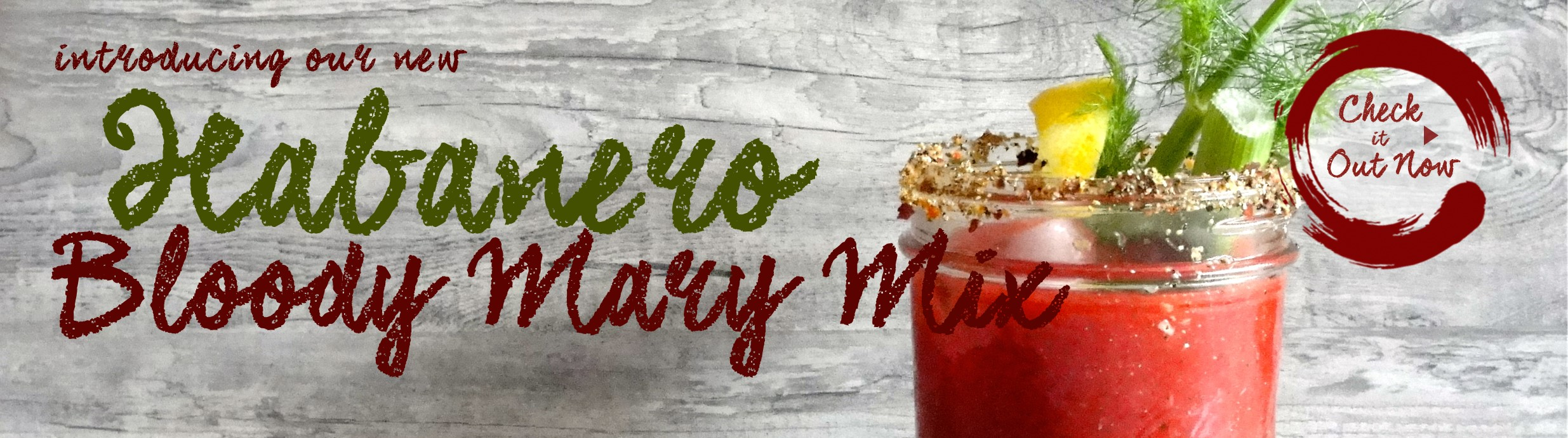 Habenero Bloody Mary Mix