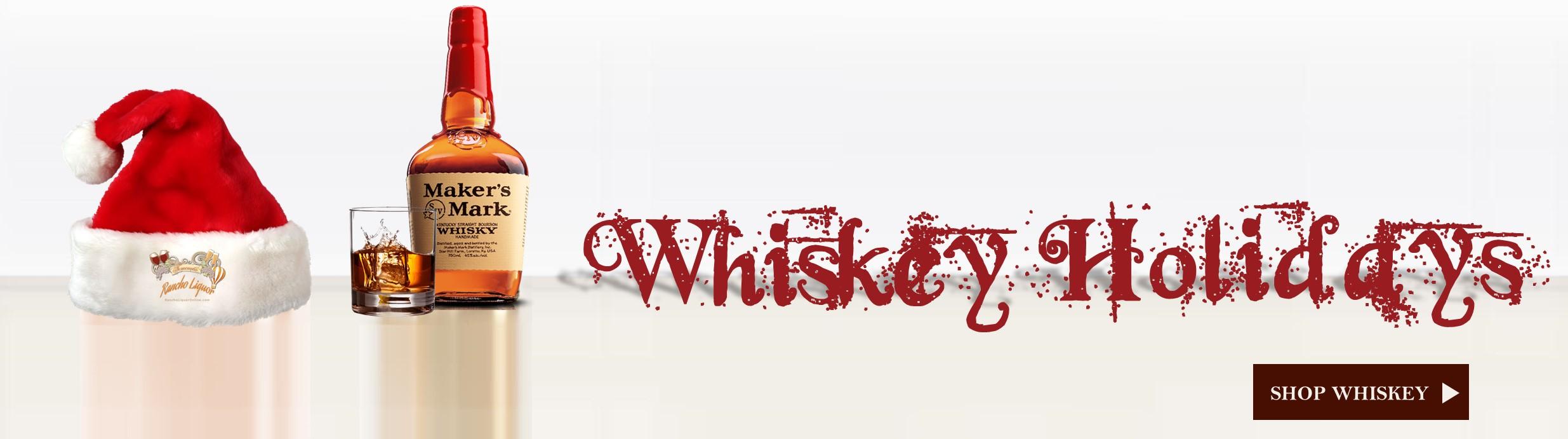 Santa Likes Whiskey and Cookies