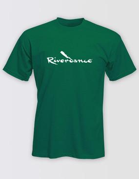 Riverdance Green Logo Shirt