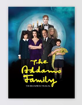 The Addams Family Souvenir Program