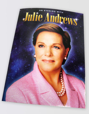 Julie Andrews Souvenir Program