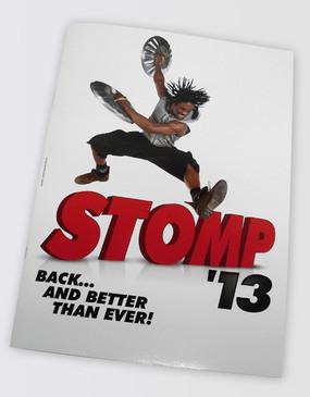Stomp Souvenir Program