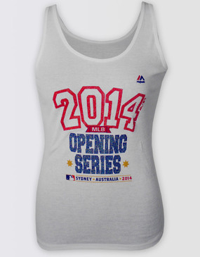 MLB 2014 Opening Series Ladies Singlet