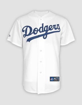 MLB LA Dodgers Mens Replica Home Jersey