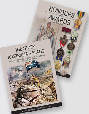 Honours and Awards + Australia's Flags Book Pack