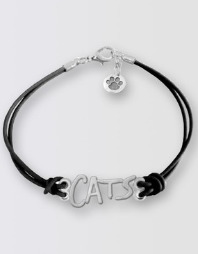 Cats Leather Bracelet