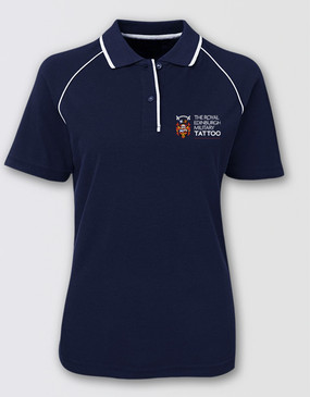 The Royal Edinburgh Military Tattoo Ladies Polo Shirt
