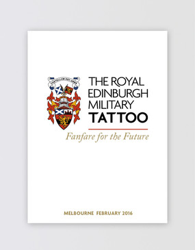 The Royal Edinburgh Military Tattoo Souvenir Program