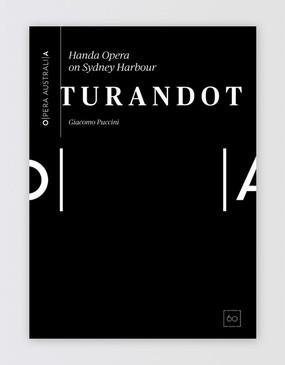 HOSH Turandot Souvenir Program