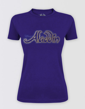 Aladdin Fitted Rhinestone T-Shirt
