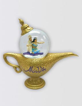 Aladdin Musical Lamp Snow Globe