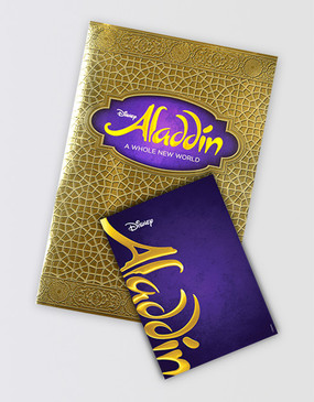 Aladdin Souvenir Program