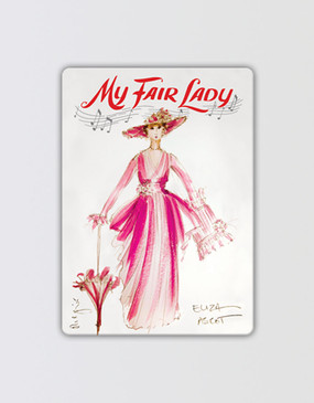 My Fair Lady Magnet