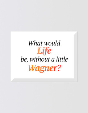 The Ring Cycle Magnet - A Little Wagner