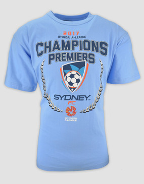Sydney FC 16/17 Youths Champions Tee