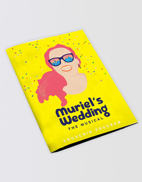 Muriel's Wedding Souvenir Program