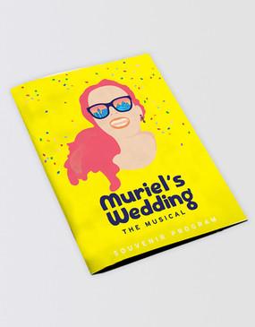Muriel's Wedding Souvenir Program