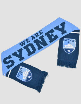 Sydney FC We Are Sydney Scarf