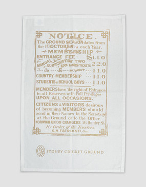 SCG Tea Towel