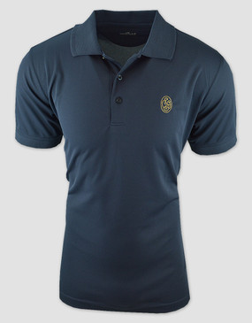 SCG Mens Navy Sport Polo