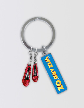 The Wizard of Oz Keyring
