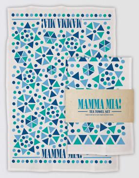 Mamma Mia! Tea Towel Set