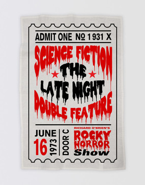 Rocky Horror Show Tea Towel