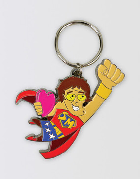 Mrs Brown's Boys 2018 Keyring - Super Mammy