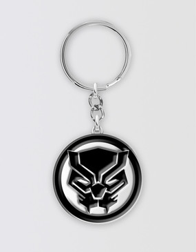 Marvel's Avengers - Black Panther Symbol Keyring