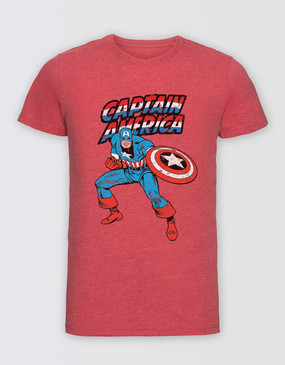 Marvel's Avengers - Adults Captain America Character T-Shirt